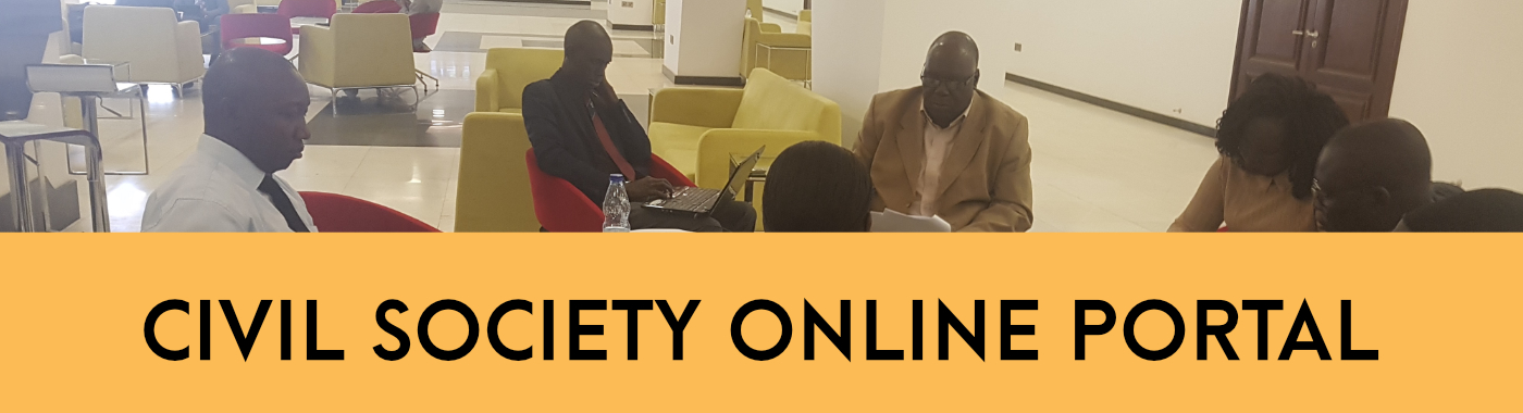 Civil Society Online Portal for Documents